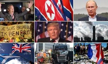 Rủi ro chính trị năm 2017 lớn nhất từ Thế chiến II
