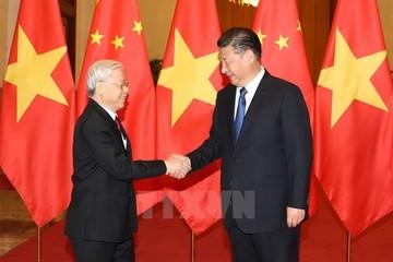 Việt - Trung ký 15 văn kiện hợp tác trong chuyến thăm của Tổng bí thư