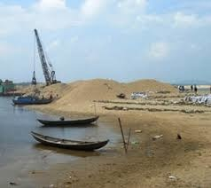 Lại gia hạn xuất khẩu cát nhiễm mặn nạo vét ở Phú Quốc