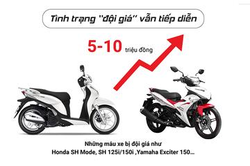 [Infographic] Bức tranh thị trường xe máy Việt Nam năm 2016