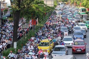 Hà Nội và TP HCM: Tỷ lệ đất dành cho giao thông thấp hơn nhiều các đô thị hiện đại
