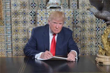 Trump khoe tự viết bài phát biểu nhậm chức