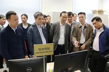Thứ trưởng Giao thông yêu cầu thêm xe buýt chạy đêm ở sân bay Nội Bài