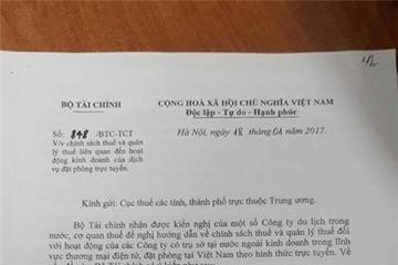 Agoda, Traveloka, Booking... sẽ bị đánh thuế tại Việt Nam