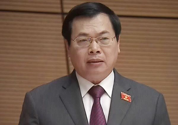 Ông Vũ Huy Hoàng bị xoá tư cách nguyên Bộ trưởng Công Thương