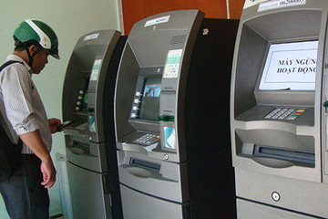 Giáp Tết, hàng loạt ATM bị gián đoạn