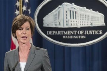 Bộ Tư pháp Mỹ phản đối sắc lệnh di trú của Tổng thống Trump