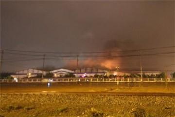 Hỏa hoạn ở nhà máy ôtô Trường Hải