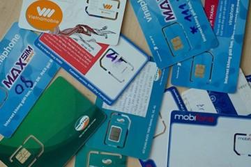 SIM rác vẫn bán công khai dù 18 triệu số đã bị thu hồi