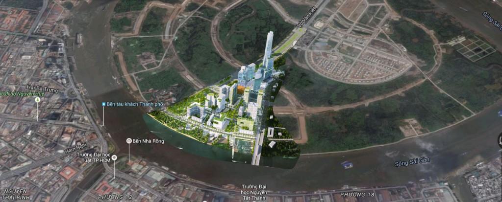 Khu phức hợp có tòa tháp 86 tầng Empire City được tăng thêm gần 1.000 căn hộ