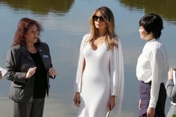 Gu thời trang của vợ và con gái Donald Trump