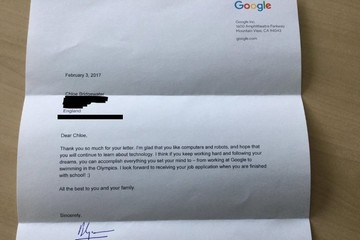 Chữ ký tay tiết lộ điều gì về CEO Google?