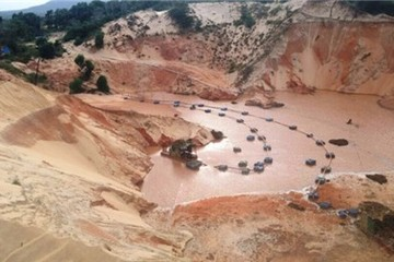 Thêm một dự án khai thác titan bị Bình Thuận từ chối