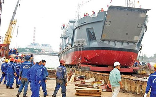 Nếu không tính nợ cũ, SBIC lãi hơn 150 tỷ đồng từ đóng tàu