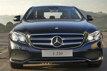 Mercedes sắp ra mắt E250 2017 tại Việt Nam