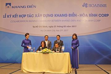 Nhà Khang Điền ký kết hợp đồng ngàn tỷ với HBC
