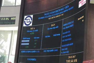 Vietjet dư mua trần 3 triệu cổ phiếu ngày chào sàn, VN-Index mất gần 7 điểm