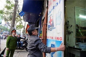 Ông Nguyễn Đức Chung: Sẽ cách chức trưởng công an nếu vỉa hè bị chiếm