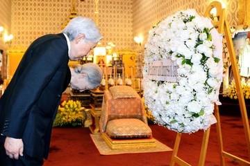 Vua mới của Thái đón tiếp nhà vua Nhật Bản