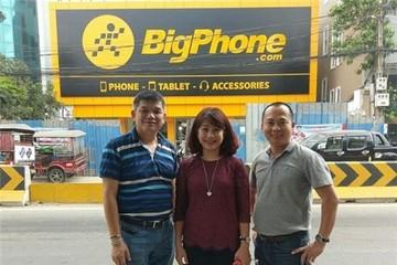 Thế Giới Di Động có cửa hàng đầu tiên tại Campuchia, tên BigPhone