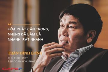 """Ông Trần Đình Long: """"Hòa Phát sẽ có tầm vóc mới vào năm 2020, doanh thu lên đến 100.000 tỷ đồng"""""""