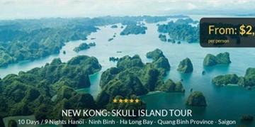 Các hãng lữ hành mở tour tới Việt Nam 'ăn theo' phim Kong