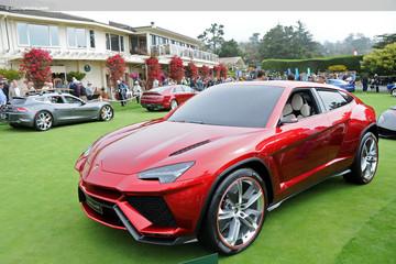 Mẫu xe SUV đầu tiên của Lamborghini sắp