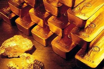 USD lao dốc, giá vàng chạm đỉnh 2 tuần