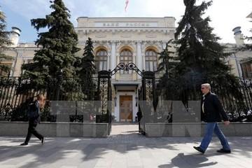 Ngân hàng trung ương Nga cắt giảm lãi suất cơ bản còn 9,75%