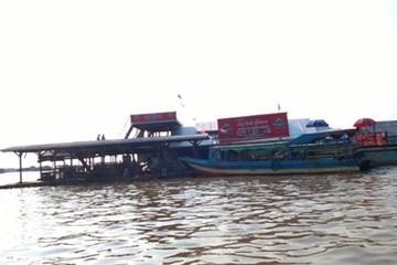 Campuchia tuyên bố giải tỏa làng nổi trên biển Hồ