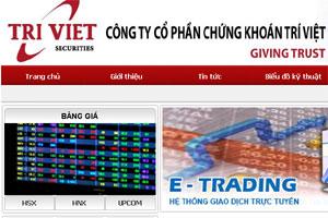 Chứng khoán Trí Việt bị phạt do chưa tách bạch tiền gửi của khách hàng