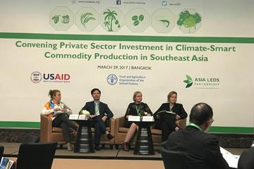 Biến đổi khí hậu làm giảm 1-1,5% GDP trong hai thập kỉ qua, Tổng giám đốc PAN Group đưa ra giải pháp trên bàn tròn quốc tế
