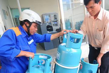 Gas giảm 25.000 đồng/bình 12 kg từ 1/4