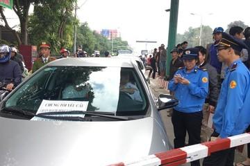 Hơn 100 ô tô diễu hành gây sức ép, CIENCO 4 trình phương án giảm giá vé trạm BOT Bến Thủy
