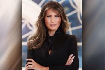Bức chân dung chính thức của đệ nhất phu nhân Mỹ