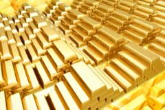 Giá vàng lên đỉnh 5 tháng