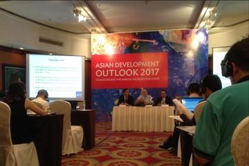 ADB dự báo kinh tế Việt Nam tăng trưởng 6,5% năm 2017 và 6,7% năm 2018
