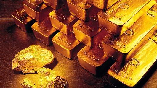 Giá vàng tăng vọt do lo ngại về bất ổn chính trị