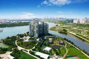 Đề xuất xây cầu 4 làn xe nối đại lộ Mai Chí Thọ và đảo Kim Cương
