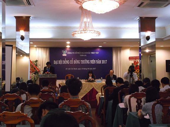 ĐHĐCĐ VPK: Năm 2017 có thể lỗ khi thực hiện dự án nhà máy ở Nam Tân Uyên