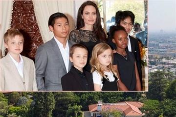 Bên trong biệt thự lộng lẫy 25 triệu USD Angelina Jolie vừa mua
