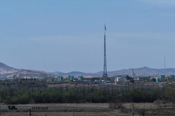 Ngôi làng duy nhất ở vùng phi quân sự Hàn Quốc - Triều Tiên