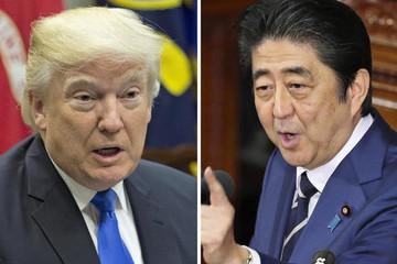 Trump, Abe tái khẳng định hợp tác chống lại Bình Nhưỡng