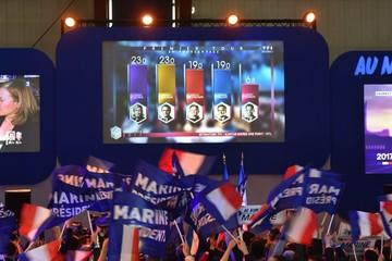 Le Pen và Macron vào vòng 2 bầu cử tổng thống Pháp
