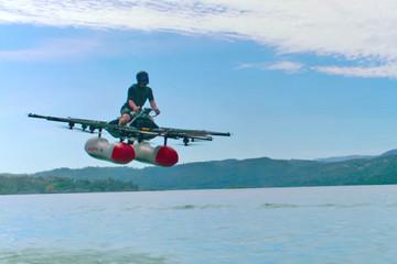 Giấc mơ thành sự thực: hé lộ mẫu ô tô bay đầu tiên của nhà sáng lập Google