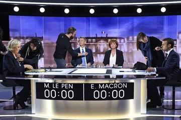 Macron thuyết phục hơn Le Pen trong cuộc tranh luận cuối cùng