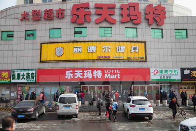 Cẳng thẳng do THAAD, cửa hàng Lotte Mart tại Trung Quốc dừng hoạt động