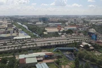 Đổi 9 lô đất xây 2 trục đường dọc kênh Tham Lương