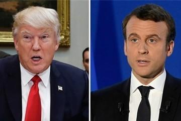 Trump điện đàm với tổng thống Pháp đắc cử