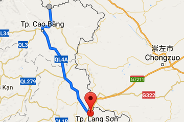 Cao Bằng đề xuất vay 300 triệu USD của Trung Quốc làm đường cao tốc lên biên giới